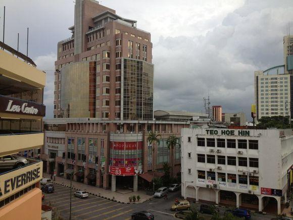 Hotel view in Kuching Malaysia