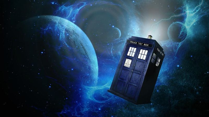 Doctor Who's blue box