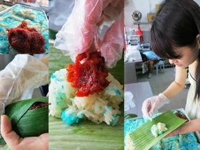 Making pulut inti