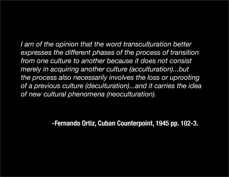 Ortiz transculturation