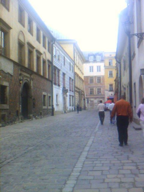 Krakow old city